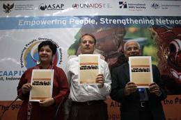 亞太愛滋病問題國家大會發表了名為「亞洲親密伴侶關係HIV傳染」的報告。(圖:UNAIDS) <br/>