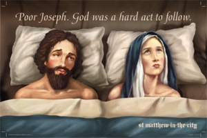 紐西蘭聖馬太聖公會聖誕節過激 海報。(圖:St Matthew-in-the-city) <br/>