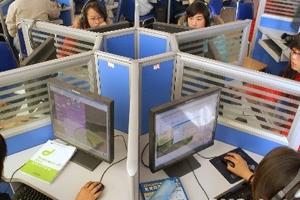 中國互聯網技術與普及率飛速發展,引起全球關注。(圖:中國新聞網) <br/>