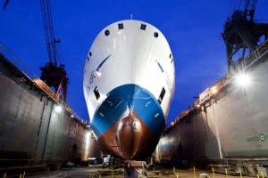望道號停泊在菲律賓Cebu港口。(圖:http:gbaships.org/) <br/>