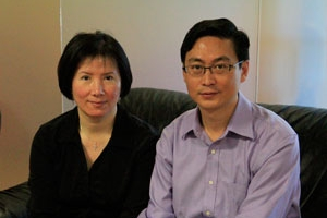 忠誠地產貸款Faithful Realty的夫妻檔負責人陳維良William和郭春蓮Joyce (圖:受訪者提供) <br/>