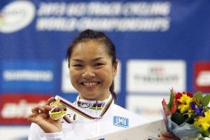 香港基督徒單車名將李慧詩21日在白俄羅斯舉行的場地單車世錦賽計時賽中奪冠。(圖:網絡) <br/>