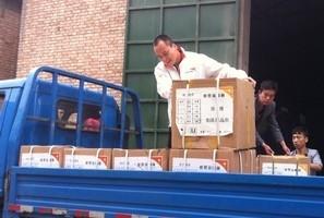 宣明會救援物資正陸續送往四川災區。(圖:宣明會) <br/>