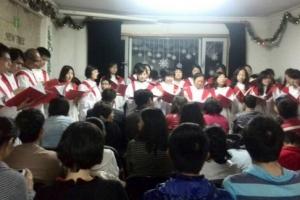 守望教會今年復活節聚會。 <br/>