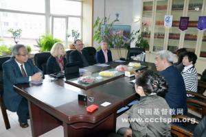 香港證主與美麥道衛出版機構代表到訪吉林聖經學校,並進行會談。 <br/>