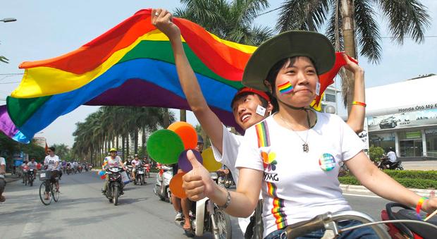 越南首都河內同性戀遊行
