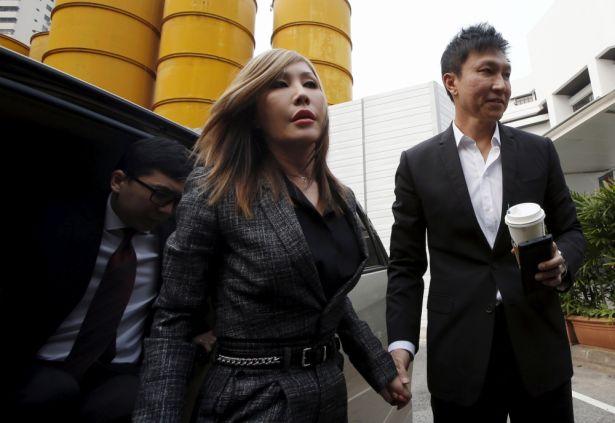 新加坡著名大教會「城市豐收教會」的康希牧師與太太何耀珊 (路透社)