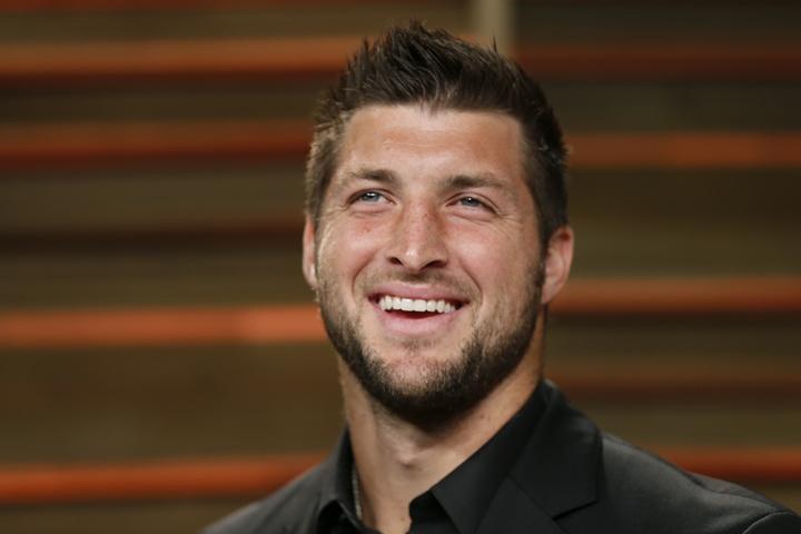 NFL美式足球員提姆.提博(Tim Tebow) (路透社)