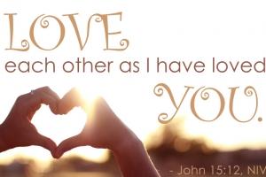 你們要彼此相愛,像我愛你們一樣 <br/>destinedtine
