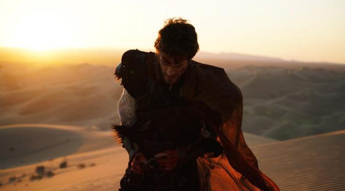 帕特里克·汤普森在《天堂之旅·天路历程》中拍摄 (图:Robert Ryu)
