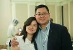 王怡牧師(左)與妻子蔣蓉12日拟到香港出席宗教会议,被当局禁止出境。(圖:來自網絡)