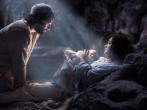 《聖經》記載瑪麗亞因聖靈感孕生下耶穌,唐崇榮牧師指出這是神蹟不是神話。(圖:《耶穌降生》來自《上帝之子》劇照》