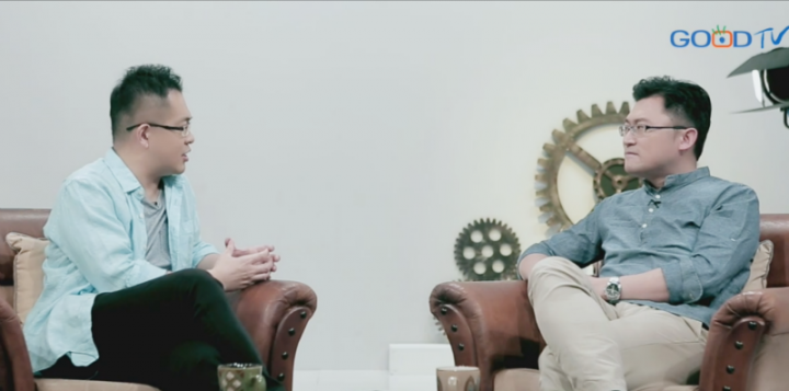 在《共享觀點》節目中,廖文華牧師和連加恩醫生對「成功」一詞作出探討。 (圖: 《共享觀點》視頻擷圖)