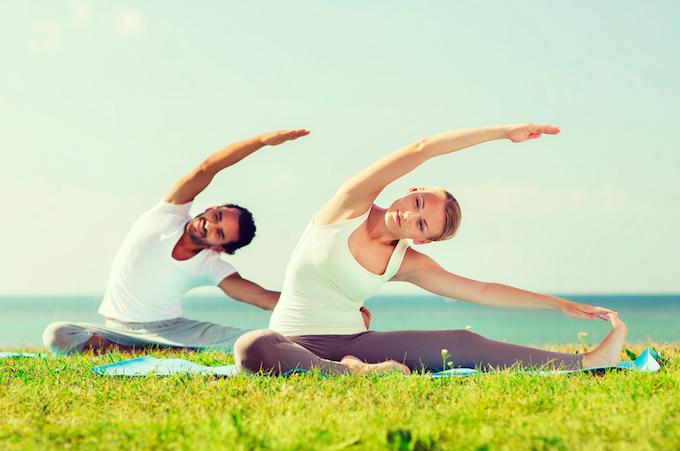 美國運動醫學協會年度報告稱瑜珈已成為運動界五大流行趨勢之一。 (圖:來自網絡)