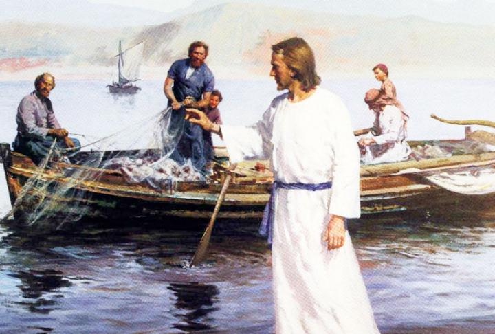 溫偉耀博士以耶穌感召彼得跟隨祂的經歷,勉勵聽眾全心全意地追隨主的路。 (圖: 網絡)