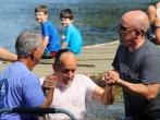 洗禮是基督教傳統儀式之一,近年民眾紛往約旦河受洗。(圖:來自網絡)