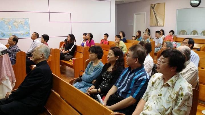 華人教會中年化。(圖:efcga)