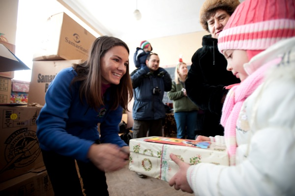 撒瑪利亞救援會聖誕鞋盒行動祝福了無數孩子。(圖:撒瑪利亞救援會)