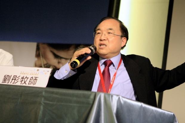劉彤牧師分享教會進入跨文化宣教的策略。(圖:網絡圖片)