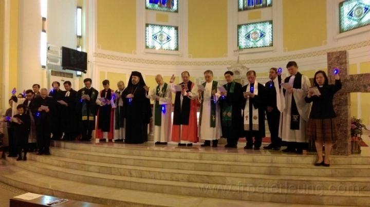 去年基督徒合一祈禱週。(圖:網絡圖片)