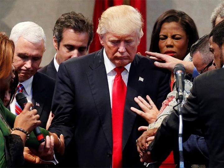 特朗普政府中有20-30名福音派成員出任非正式顧問團(圖:網絡圖片)