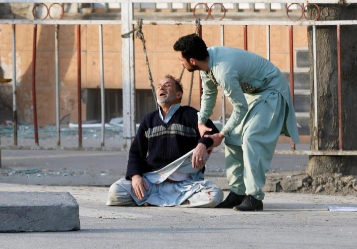 阿富汗首都喀布爾爆炸發生在核心地區(圖:網絡圖片)