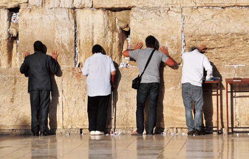 猶太人過年在上帝面前禱告反省過去。(圖:網絡圖片)