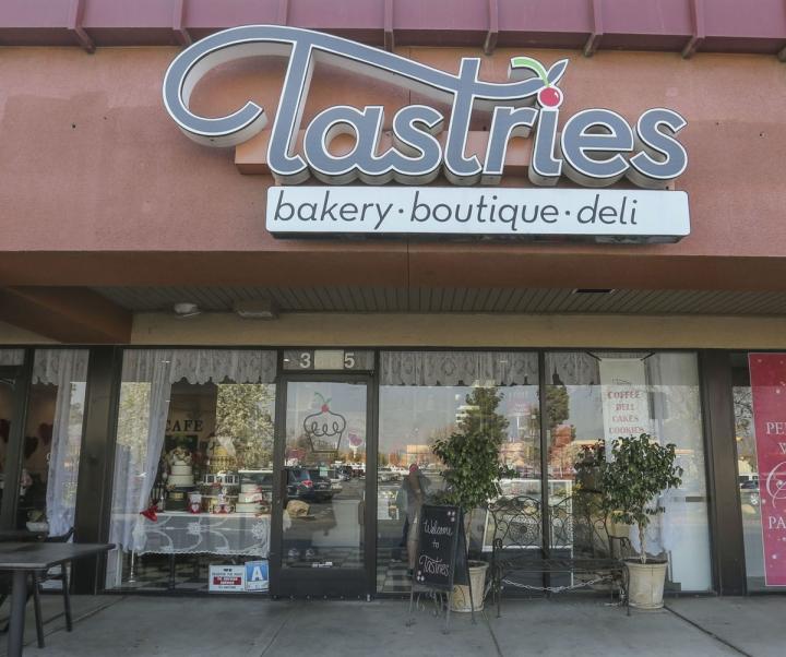 圖為事件中的蛋糕店。(圖:網絡圖片)
