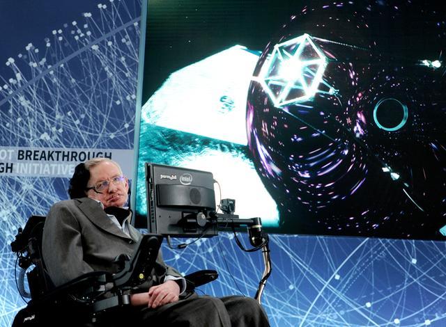 著名物理學家霍金剛於3月14日逝世。(圖:網絡)