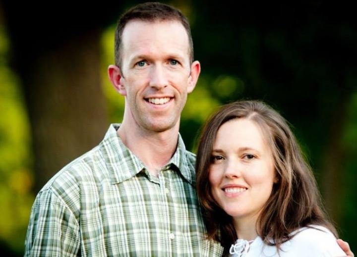 博漢農與妻子。(圖:博漢農臉書)