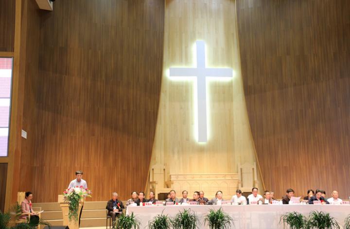 福建省基督教兩會去年舉辦交流會。(圖:福建神學院網站)