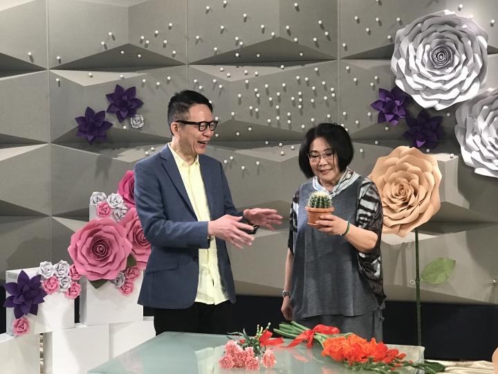 藝人李司棋在節目「當家好媽」分享。(圖:影音使團)