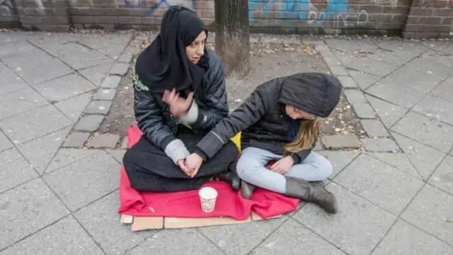 匈牙利吉卜賽人生活艱苦。(圖:匈牙利聯合報)