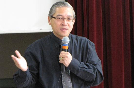 世界華人福音聯絡中心總幹事陳世欽牧師。(圖:基督日報)
