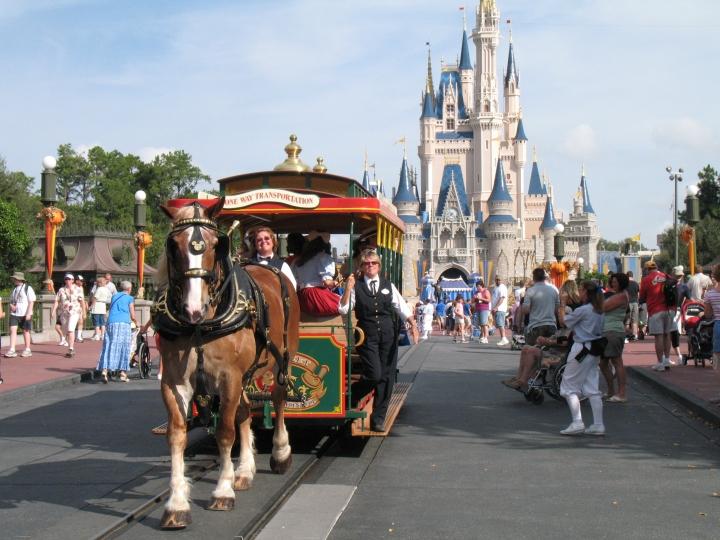 佛羅里達州奧蘭多華特迪士尼世界(Walt Disney World)主題公園的「魔幻王國」(Magic Kingdom)。(圖:DISNEYWORD'S MAGIC KINGDOM by JOHN SIMPSON is licensed under CC BY 3.0)