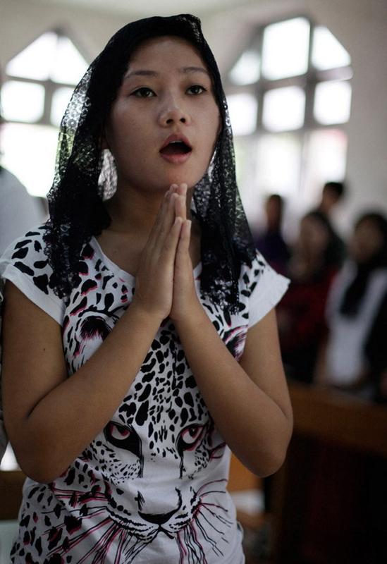 緬甸少數族群克欽族。(圖:搜弧)