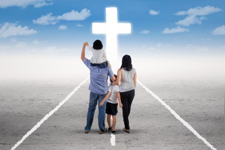 基督是一家之主。(圖:網絡片)