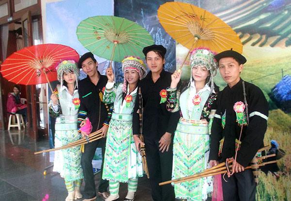 越南赫蒙族人30年40萬人信耶穌。(圖:越南之聲廣播電台)