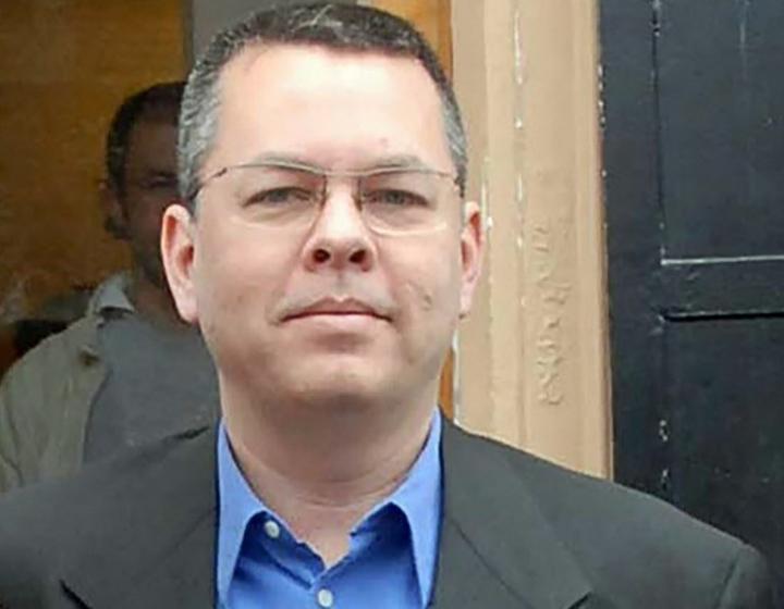 安德魯·布朗森牧師 (圖:來自網絡)