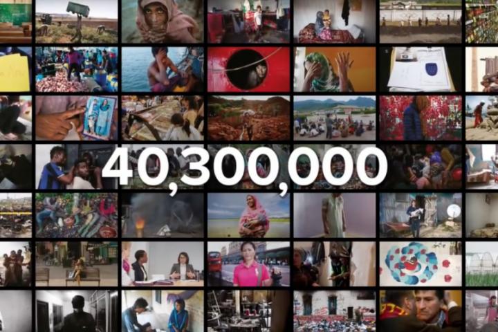 《2018年全球奴隸指數》顯示現在全球超過4030萬人被奴役。 (圖:來自網絡)