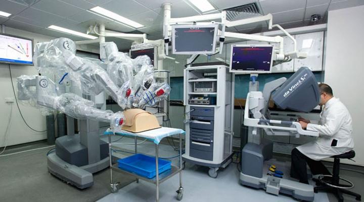 達芬奇機械人手術系統。(圖:香港中文大學官網)