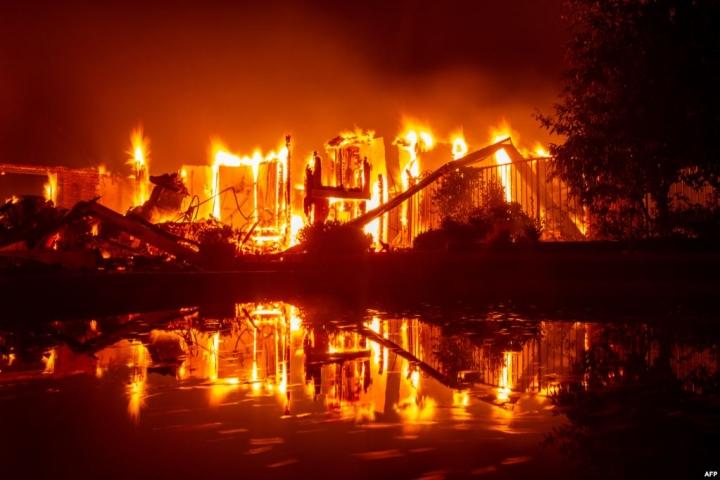 加州卡爾大火 (圖:來自網絡)