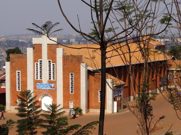 盧旺達基加利的Sainte-Famille教堂 (圖:FLICKR/ADAM JONES/CC)