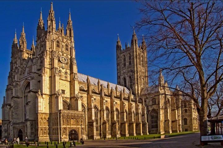 坎特伯雷大教堂是英國最古老最著名的大教堂 (圖:來自網絡)
