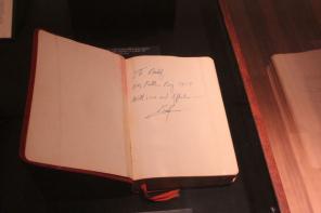 葛培理牧師送給父親的《聖經》(圖:THE CHRISTIAN POST)