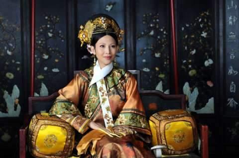 蔡少芬在《甄嬛傳》飾演雍正帝皇后 (圖:來自網絡)