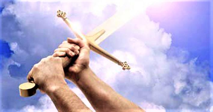 屬靈爭戰得勝在於神的道。(圖:網絡圖片)