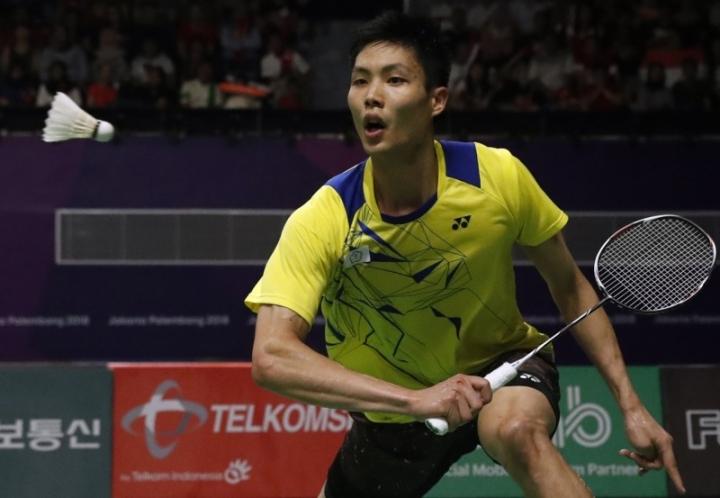 周天成取得印尼亞運會羽毛球男單亞軍 (圖:來自網絡)