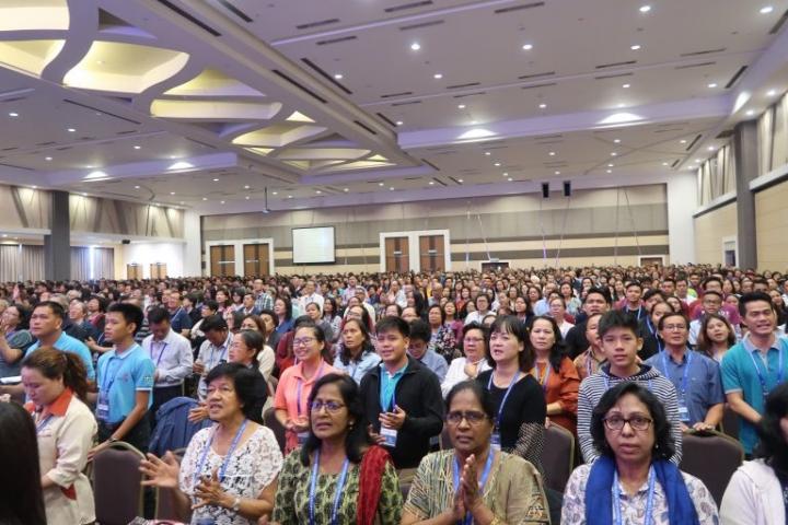 近3800人共同禱告(圖:來自馬來西亞基督教衛理公會官網)
