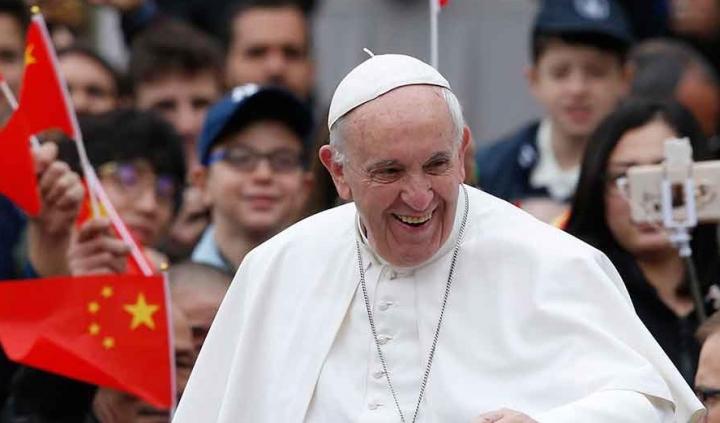 教宗訪問中國。(圖:Instituto Humanitas Unisinos)